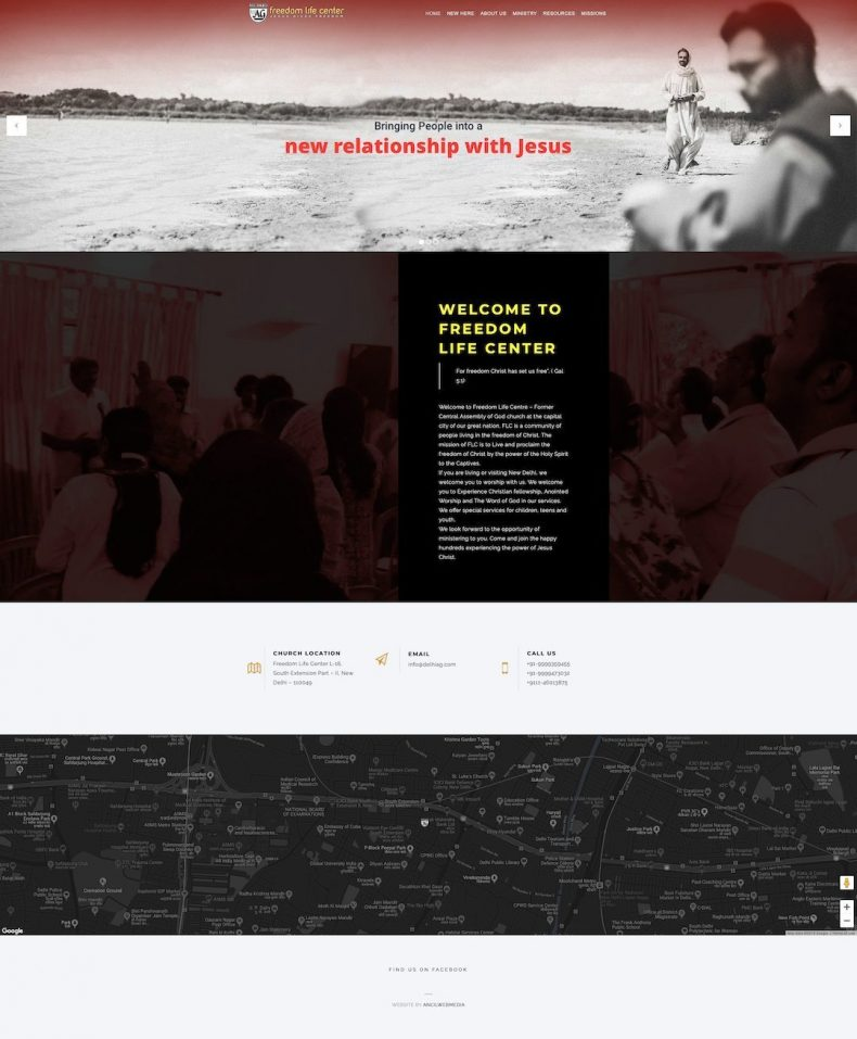 Freedom Life Center – Website of Freedom Life Center, New Delhi