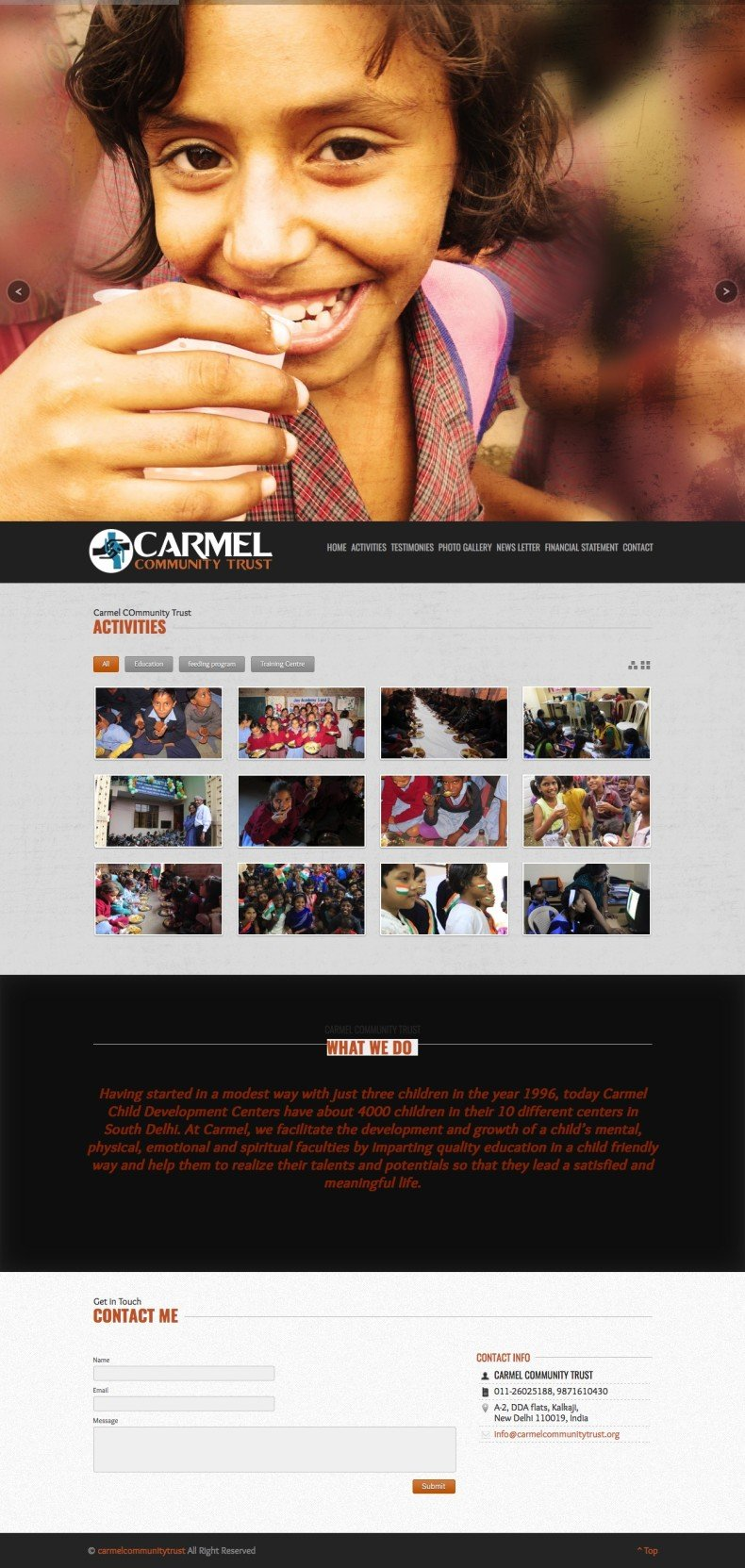 carmelcommunitytrust » Carmel Community Trust