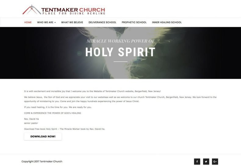 Tent Maker Church – Tent Maker Church